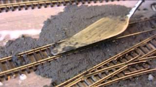 N Gauge Model Railway Ballasting Sidings ? By Shed Engineering Part 26