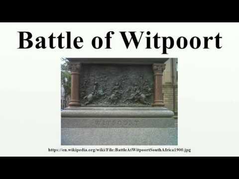 Battle of Witpoort