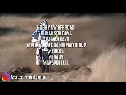 Status Whatsapp Kata Kata Motocross Youtube