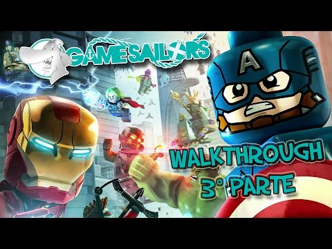 LEGO Marvel's Avengers - Walkthrough 3° parte Full HD ITA