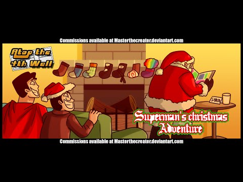 Superman's Christmas Adventure - Atop the Fourth Wall