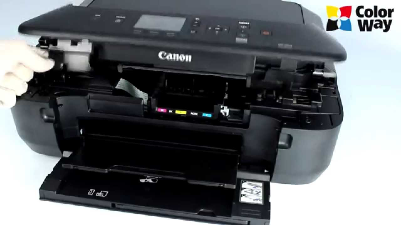 Instalation Ciss Colorway For Canon Mg5550 Youtube