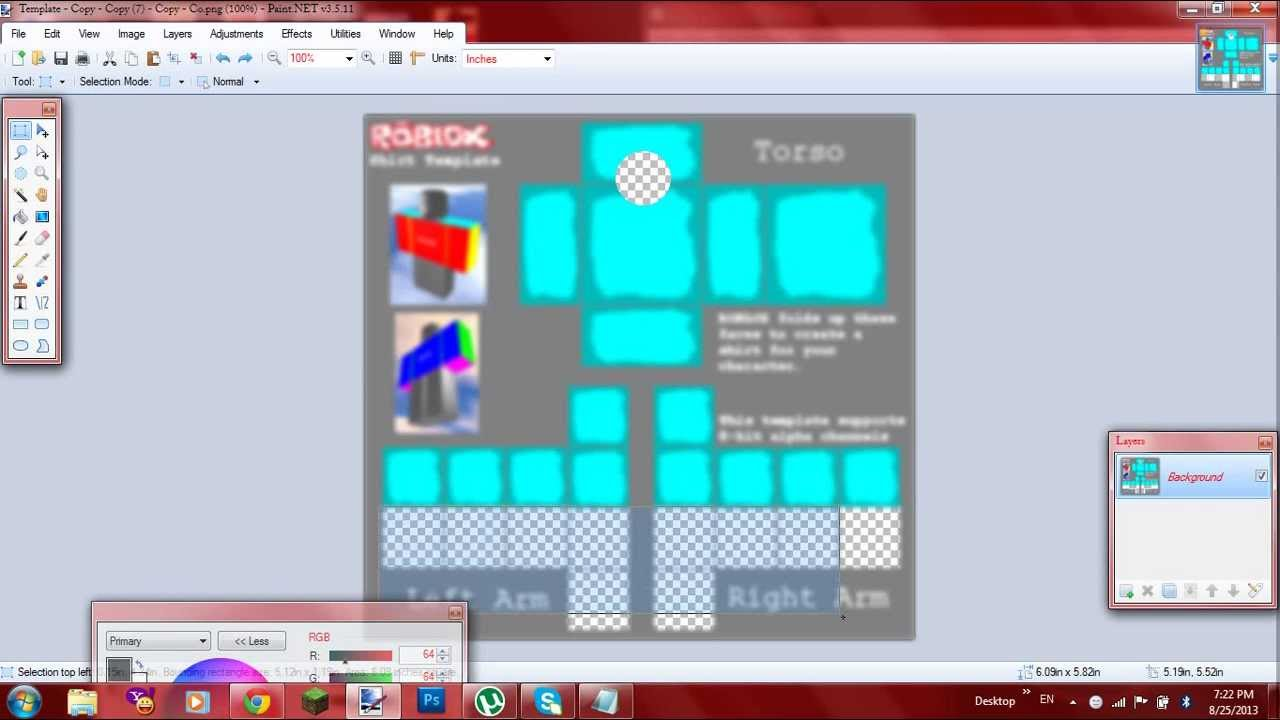 Awesome Roblox Shirt Template Gift - Professional Resume Examples ...