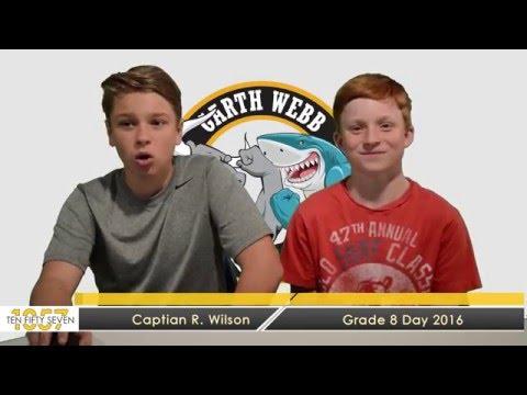 GRADE 8 VIDEO