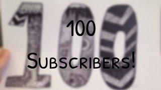 100 Subscriber Zentangle Drawing ♡