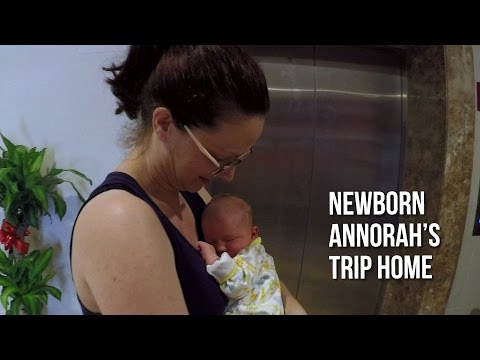 NEWBORN BABY ANNORAH AT THE ABLER MATERNITY HOSPITAL IN CHINA