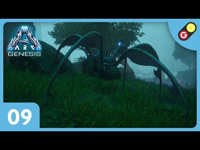 ARK : Survival Evolved - Genesis #09 On tame des Bloodstalkers ! [FR]