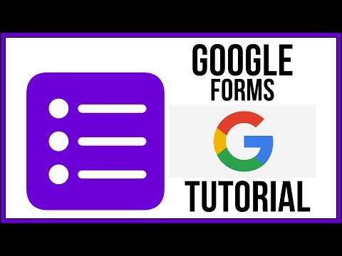Google Forms Full Tutorial From Start To Finish - How To Use Google Forms