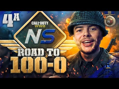 Road to 100-0! - Ep. 4A - This Team is GOOD! (Call of Duty:WW2 Gamebattles)