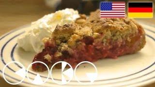 Streuselkuchen Mit FrÜchten Rezept - Crumble Cake With Fruits Recipe