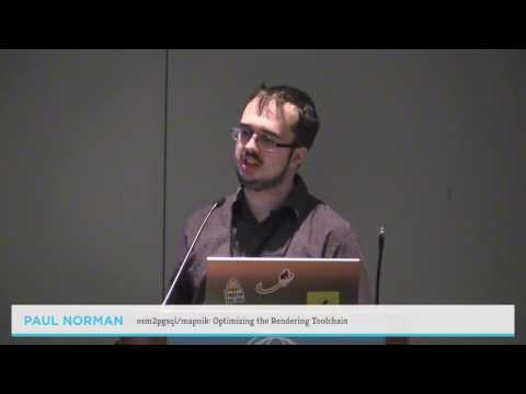 osm2pgsql:mapnik — Optimizing the Rendering Toolchain - Paul Norman