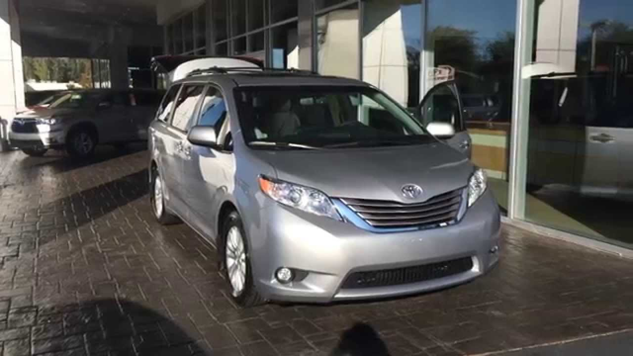 Renee S 2015 Toyota Sienna Xle Premium By Gerald Youtube