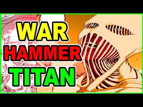 The War Hammer Titan Revealed!! Attack on Titan Chapter 101 Review Shingeki no Kyojin  進撃の巨人
