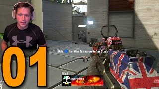 Black Ops 2 Competitive - Part 1 - INTENSE NEW SERIES!!