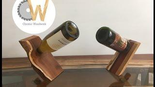 Scrap Wood Project: Balancing Wine Holder