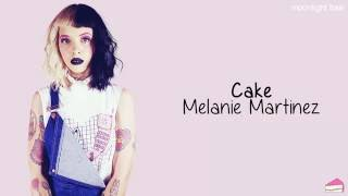 Melanie Martinez Cake Lyrics
