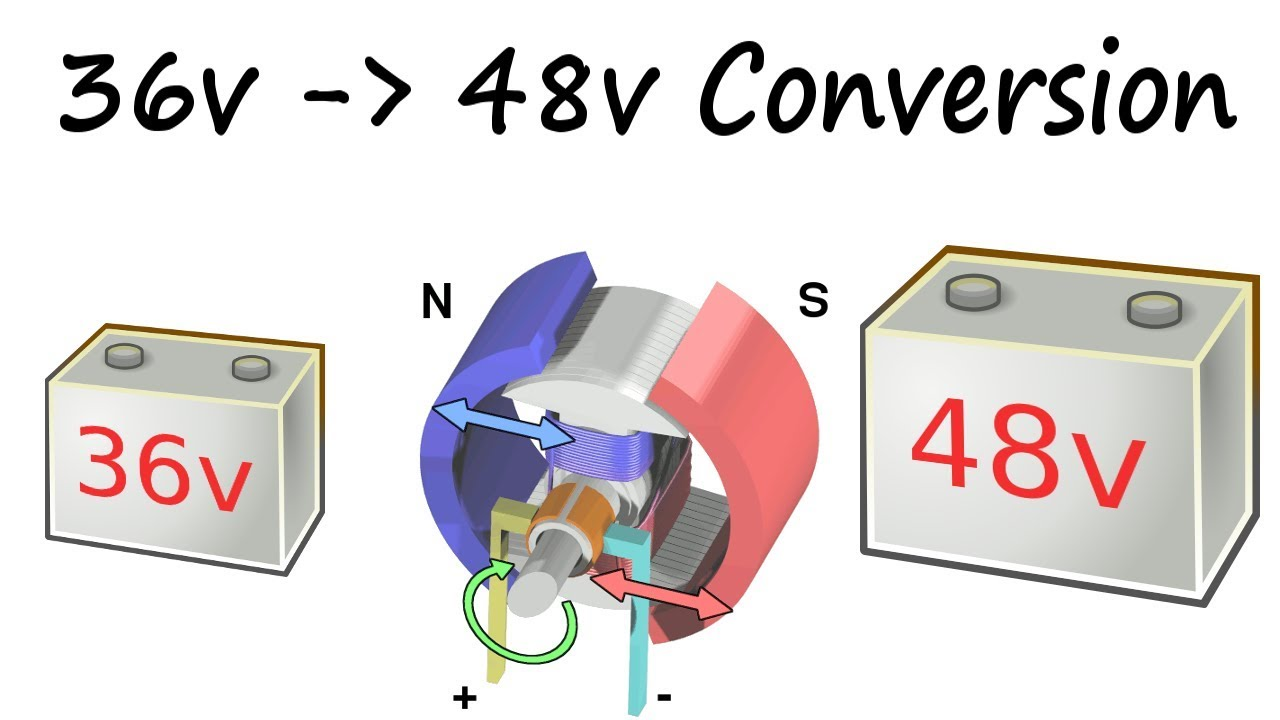 1982 ez go golf cart wiring diagram car led light club build 36v to 48v conversion part 1 prep work