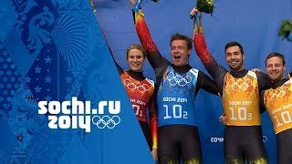Luge - Luge Team Relay - Germany Win Gold | Sochi 2014 Winter Olympics