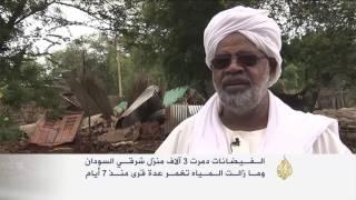 قتلى ودمار بفيضانات اجتاحت ولاية سنار السودانية