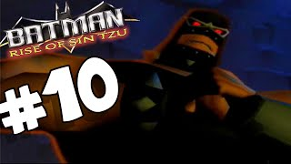 Batman Rise of Sin Tzu PART 10 Bane Attacks BATCAVE