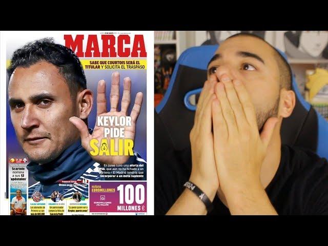 Adieu Neymar et Navas ? (à quoi joue le Real Madrid)