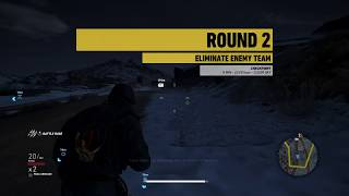 Tom Clancy's Ghost Recon Wildlands Ghost War PS4 ELIMINATION | CHECKPOINT (4)