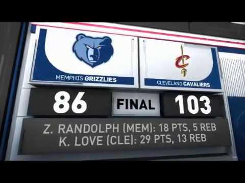 FULL NBA HIGHLIGHTS: Memphis Grizzlies vs Cleveland Cavaliers - December 13, 2016 - 16-17 NBA Season