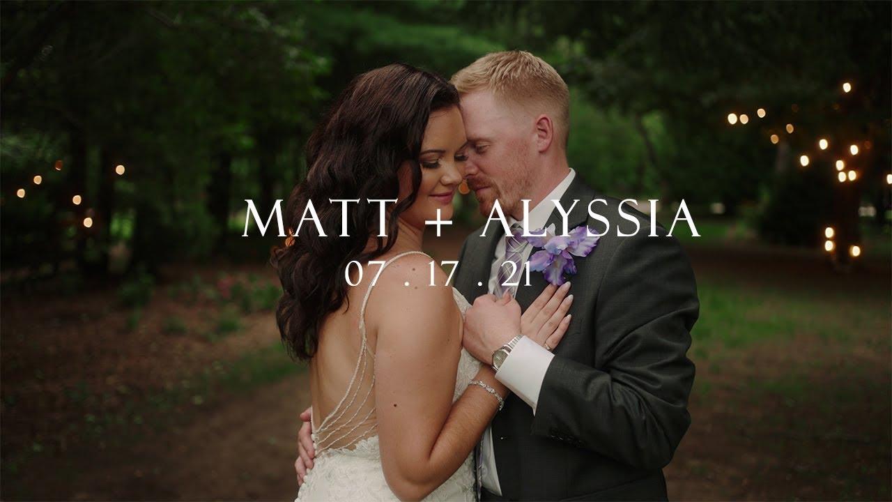 Cranberry Creek Wedding Film - Matt and Alyssia - A7SIII 4k