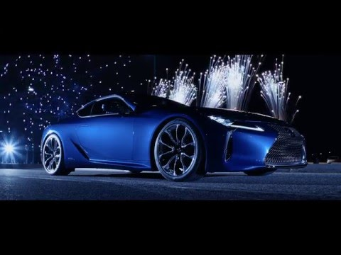 2016 Lexus LC 500h video debut