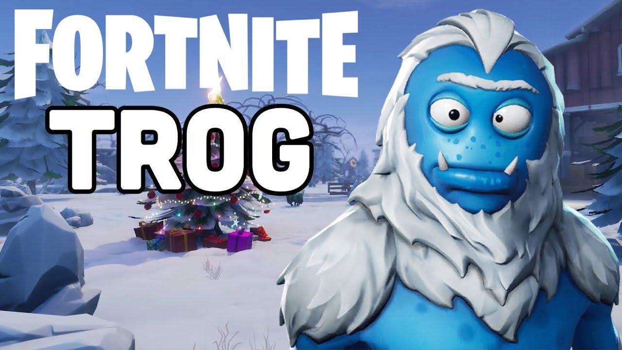 Fortnite Season 7 New Trog Skin Gameplay Youtube