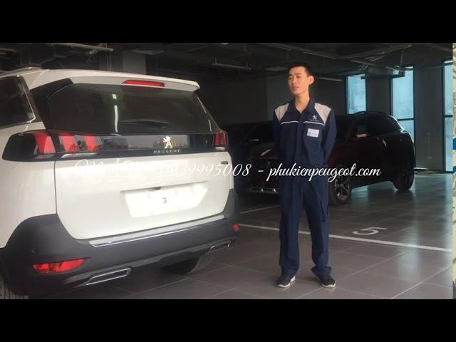 Hướng dẫn thay lốp dự phòng xe Peugeot 5008 Peugeot 3008