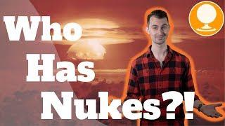 哪些国家拥有核武器?