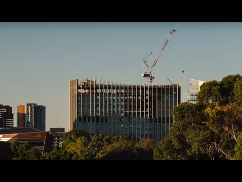 University of South Australia Cancer Research Institute start to finish time-lapse