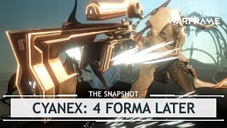 Warframe: Cyanex, The Ultimate SUPPORT Weapon? - 4 Forma Build [thesnapshot]
