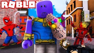 "DON'T COMBATTER CONTRO THANOS!! - ROBLOX ""FORTISSIMO"""