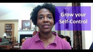 Grow your Self-Control (Biblical Weight Loss Motivation)
