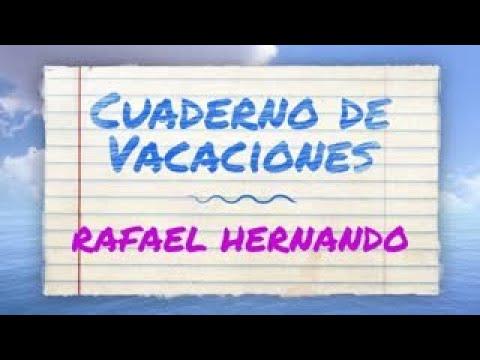 CUADERNO DE VACACIONES | RAFAEL HERNANDO
