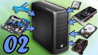 Как собрать компьютер в домашних условиях! Часть 2. Home made PC. Part 2.