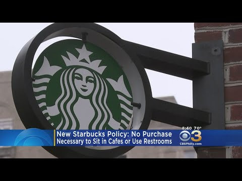 New Starbucks Policy: No Purchase Necessary To Sit In Cafes Or Use Restrooms