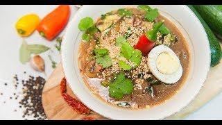 Холодный азиатский суп | Суповарение