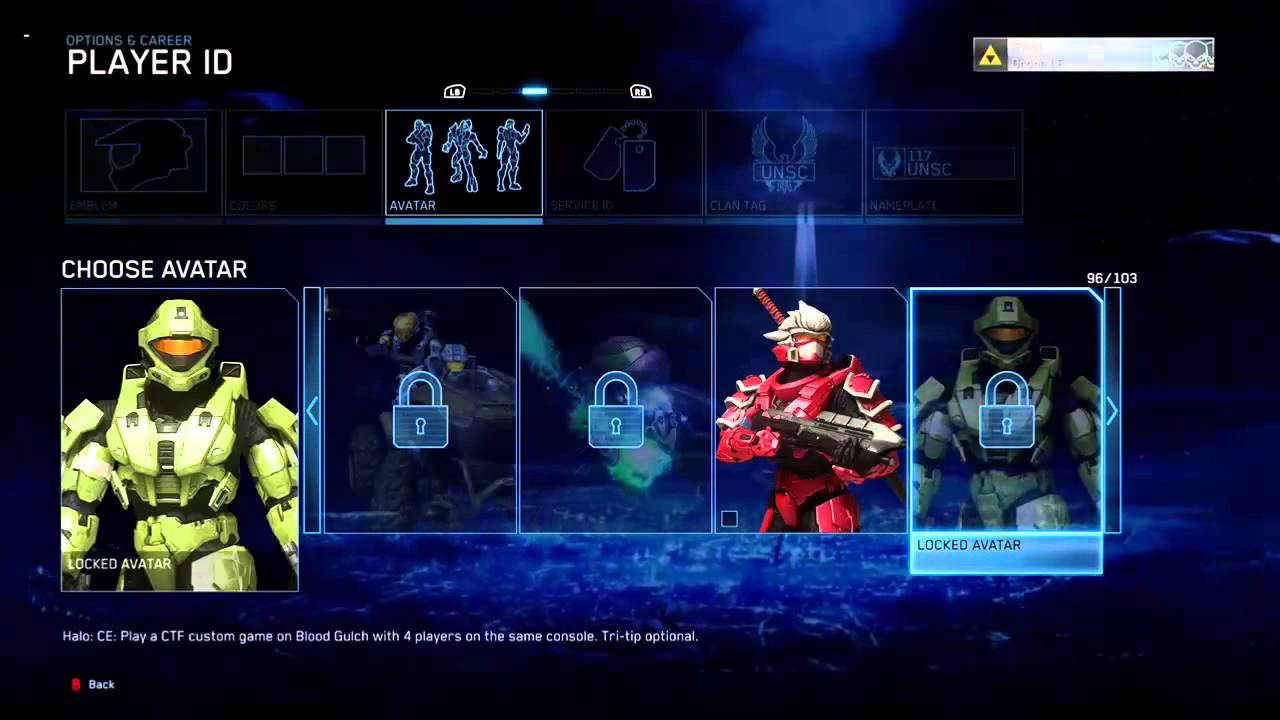 how to add avatars to xbox one
