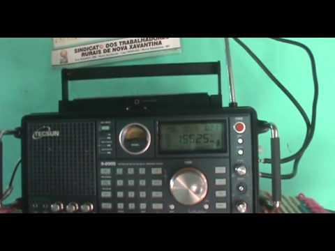 15525 kHz China Radio International , Urumqi | China (Shortwave 19 Meters Band)