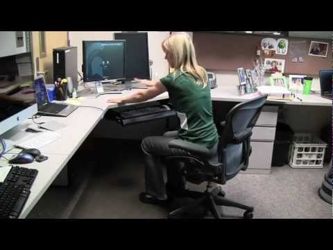 Michigan State University Rehabilitation: Desk Exercises