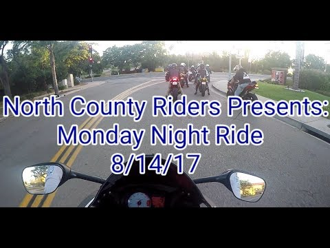 North County Riders| Monday Night Group Ride| 8-14-17