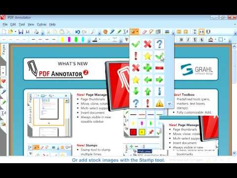 Annotator adobe pdf