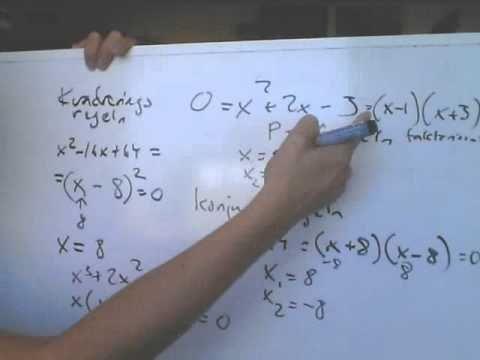 Matematik 3c C Polynom av högre grad.wmv