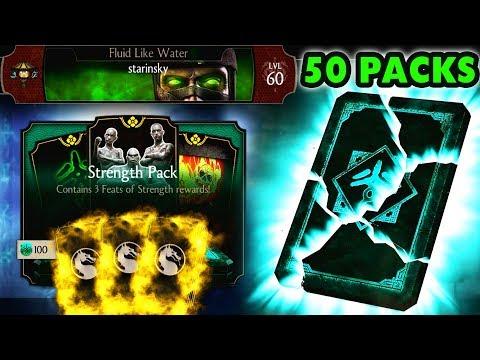 MKX Mobile. HUGE Strength Pack Opening. So Many Elder God Items! ? thumbnail