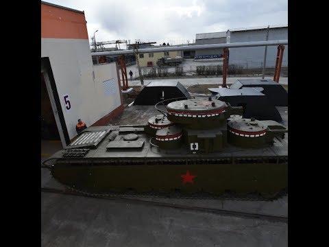 Уральские реставраторы восстановили советский танк Т-35
