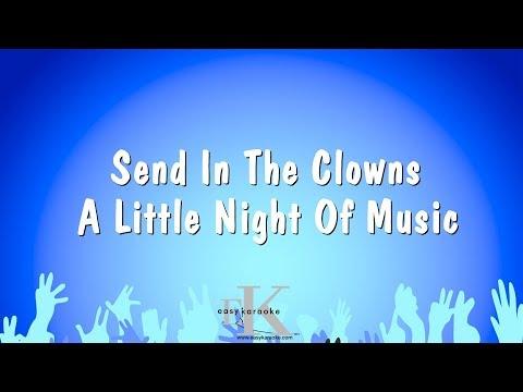 Send In The Clowns - A Little Night Of Music (Karaoke Version)