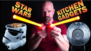 Testing 5 Star Wars Kitchen Gadgets!